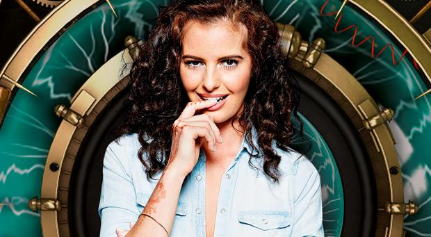 Jade-Martina Lynch, 24, from Dublin who is one of the housemates in Big Brother:Timebomb