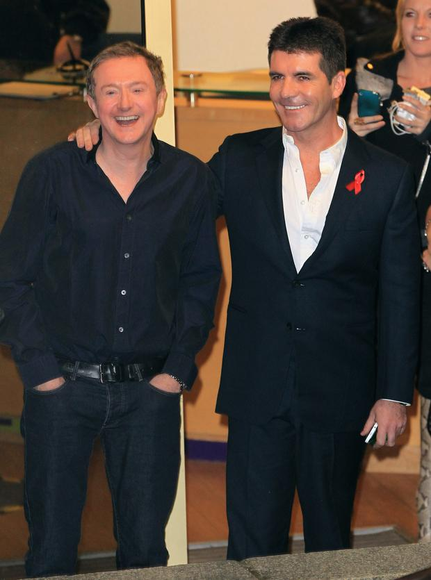 Simon and Louis pictured in 2010