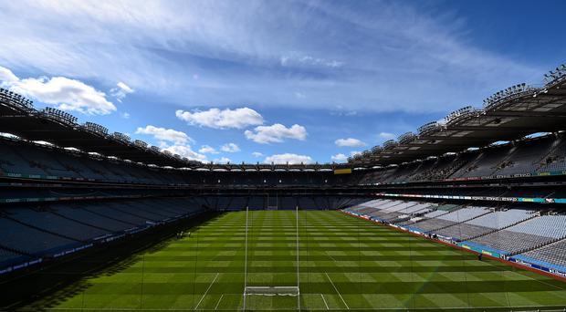 A general view of Croke Park