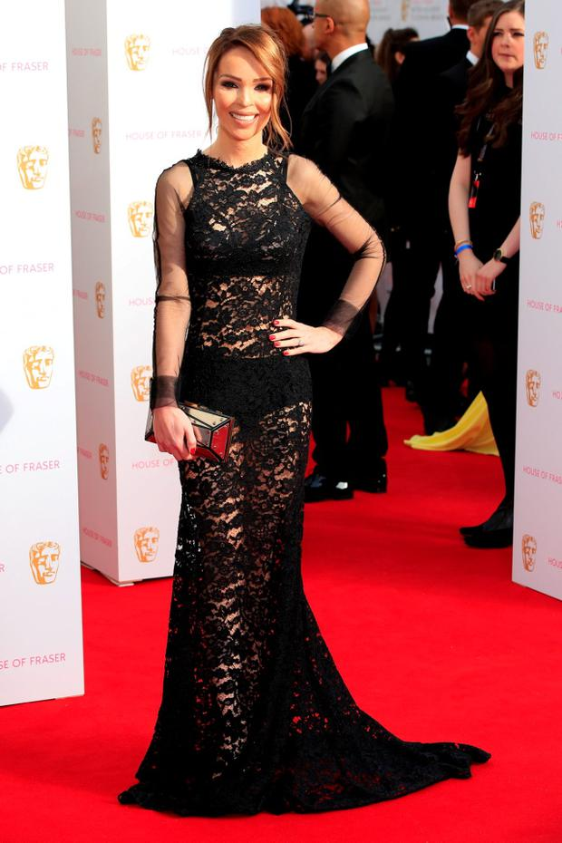 LONDON, ENGLAND - MAY 10: Katie Piper attends the House of Fraser British Academy Television Awards (BAFTA) at Theatre Royal on May 10, 2015 in London, England. (Photo by John Phillips/Getty Images)