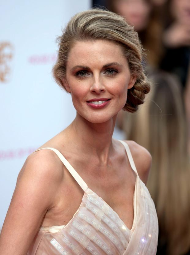 Donna Air arrives for the House of Fraser British Academy of Television Awards at the Theatre Royal, Drury Lane in London. PRESS ASSOCIATION Photo. Picture date: Sunday May 10, 2015. See PA story SHOWBIZ Bafta. Photo credit should read: Hannah McKay/PA Wire