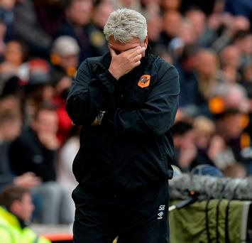 Hull City manager Steve Bruce was bewildered by his side's performance against Burnley on Saturday