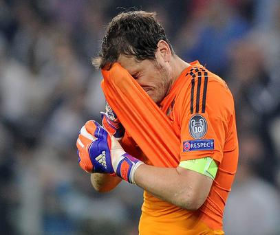 Iker Caillas seems to have ended love-affair with Real Madrid supporters