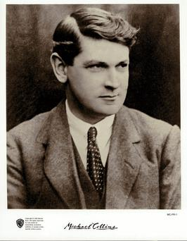 Michael Collins became chairman and finance minister of the provisional government in his early thirties