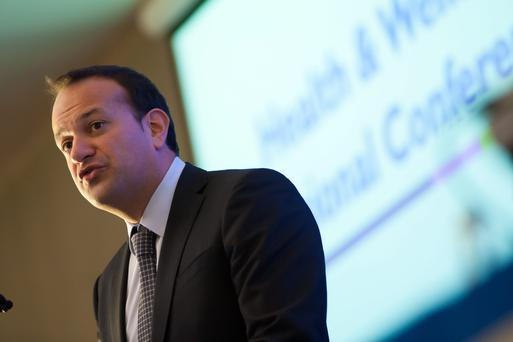 Fine Gael figures like Health Minister Leo Varadkar, pictured, and Jobs Minister Richard Bruton have issued warnings about the need for increased productivity (Reg Gordon)