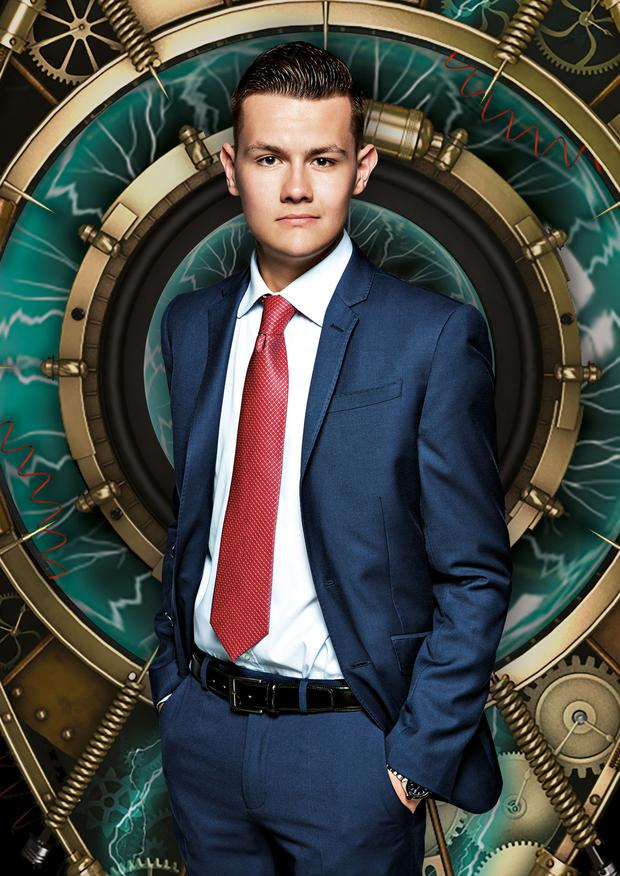 Undated Channel 5 handout photo of Joel Williams, 19, from Cardiff who is one of the housemates in Big Brother:Timebomb starting on Tuesday 12th May. PRESS ASSOCIATION Photo. Issue date: Sunday May 10, 2015. See PA story SHOWBIZ Brother. Photo credit should read:Channel 5/PA Wire NOTE TO EDITORS: This handout photo may only be used in for editorial reporting purposes for the contemporaneous illustration of events, things or the people in the image or facts mentioned in the caption. Reuse of the picture may require further permission from the copyright holder.
