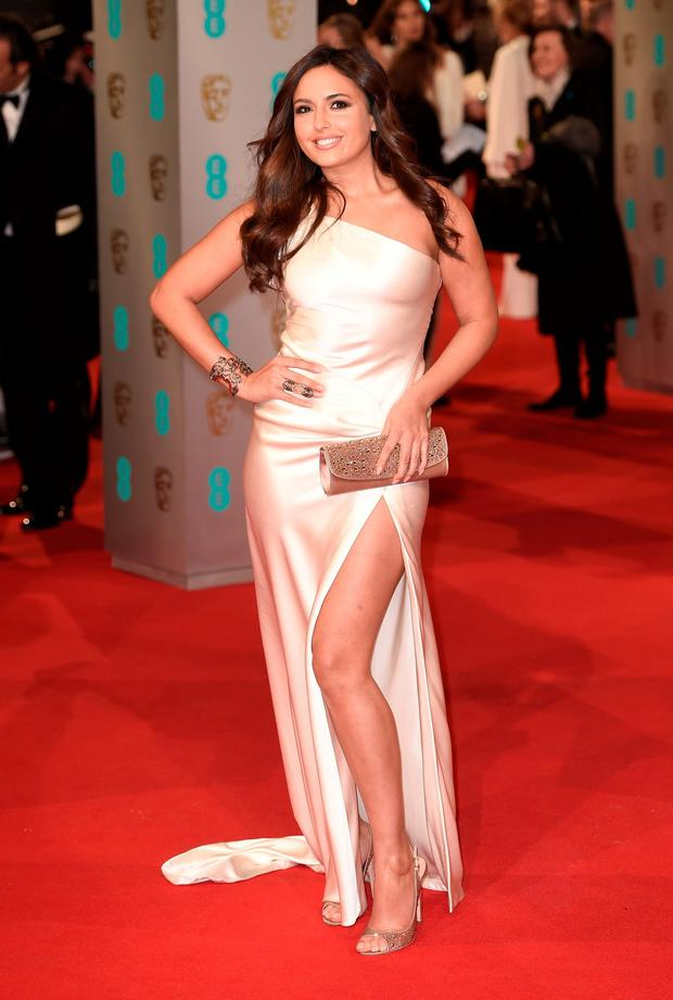 Nadia Forde attends the EE British Academy Film Awards at The Royal Opera House on February 8, 2015 in London, England. (Photo by Ian Gavan/Getty Images)