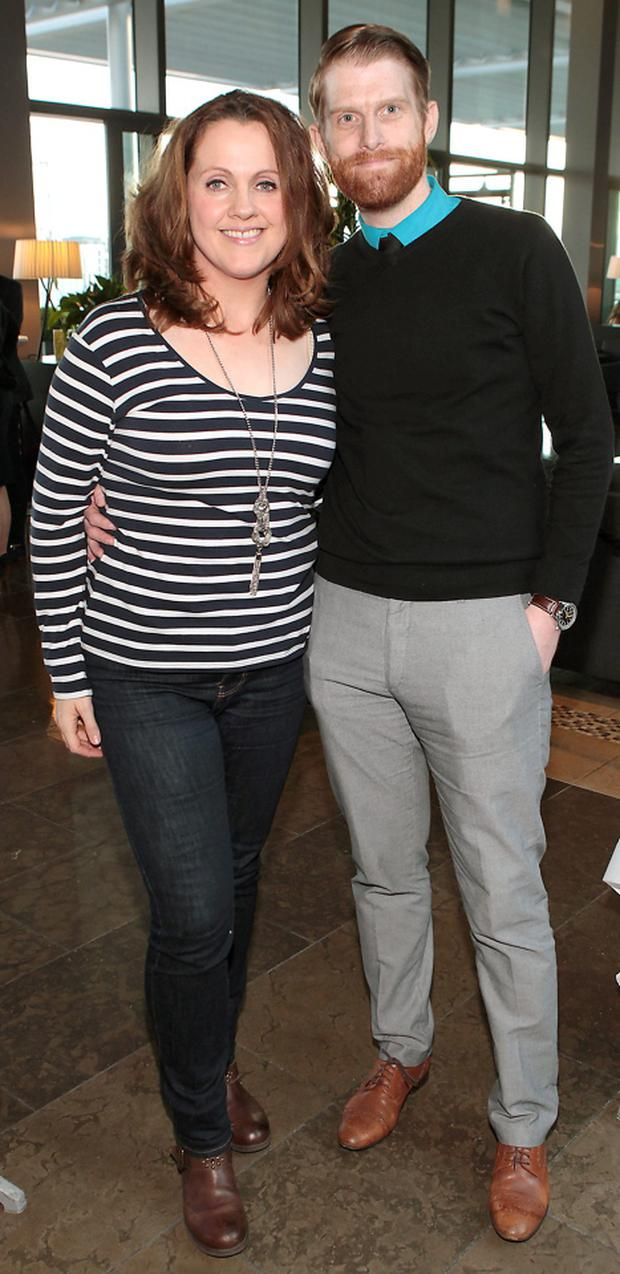 Ruth Scott and Rob Morgan pictured at The Gibson Hotel's Summer Barbeque launch at The Gibson Hotel