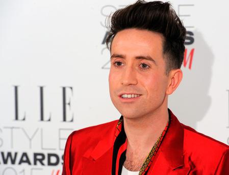 Nick Grimshaw attends the Elle Style Awards 2015 at Sky Garden @ The Walkie Talkie Tower on February 24, 2015 in London, England.