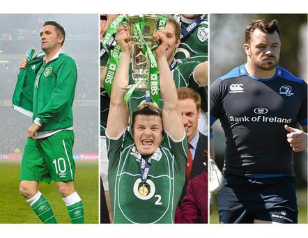 Robbie Keane, Brian O'Driscoll and Cian Healy are all backing a Yes vote