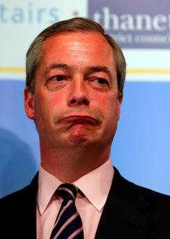 Nigel Farage has had his resignation as Ukip leader rejected by the party's national executive committee Credit: Gareth Fuller/PA Wire