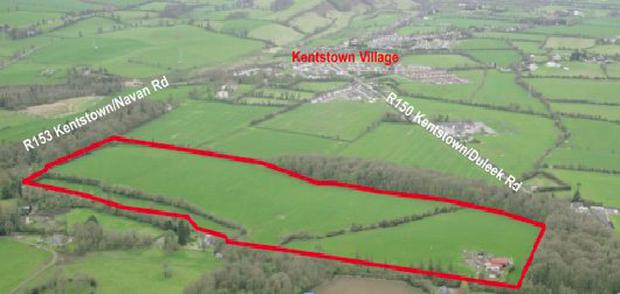 The 54 acre residential farm is located near Kentstown, close to Navan