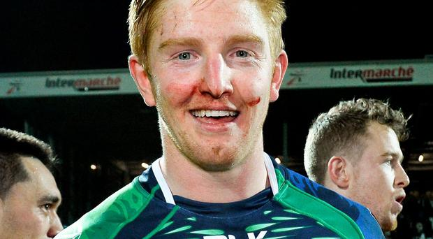 Fractured finger rules Darragh Leader out of Connacht run-in