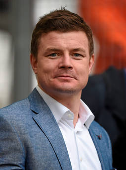 Rugby hero Brian O'Driscoll has backed the 'Yes' campaign