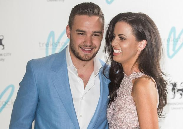 Liam Payne with his ex girlfriend Sophia