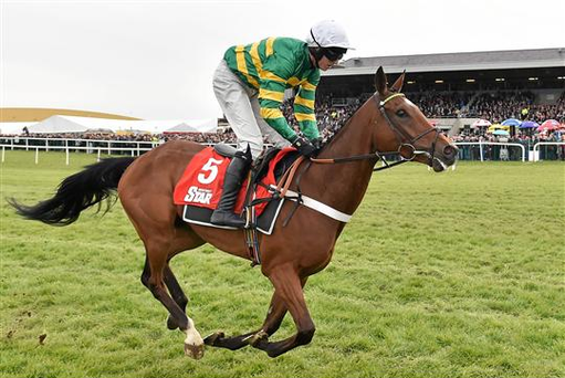 Mark Walsh, pictured here up on Snake Eyes, continued his good recent run with a double for JP McManus at Limerick yesterday (Cody Glenn / SPORTSFILE)