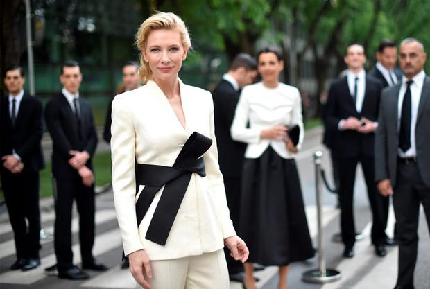 Cate Blanchett attends the Giorgio Armani 40th Anniversary Silos Opening And Cocktail Reception on April 30, 2015 in Milan, Italy. (Photo by Jacopo Raule/Getty Images for Giorgio Armani)