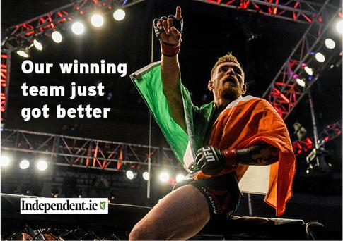 Conor McGregor is joining Independent.ie ahead of his title fight with Jose Aldo