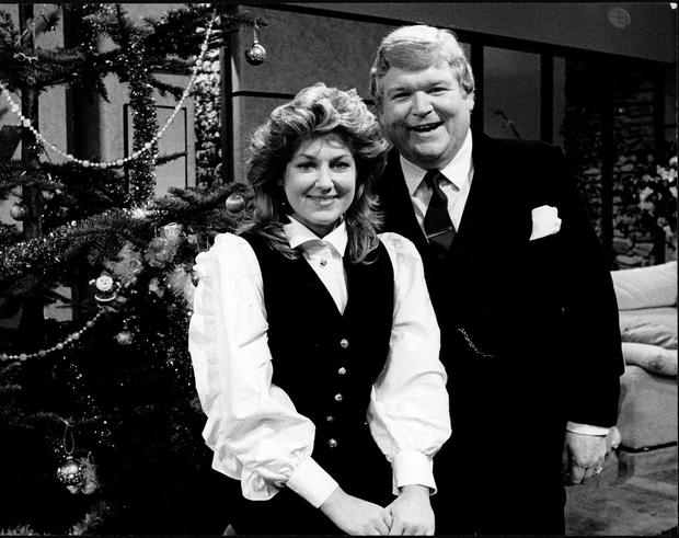 Derek Davis with Thelma Mansfield on 'Live at Three'