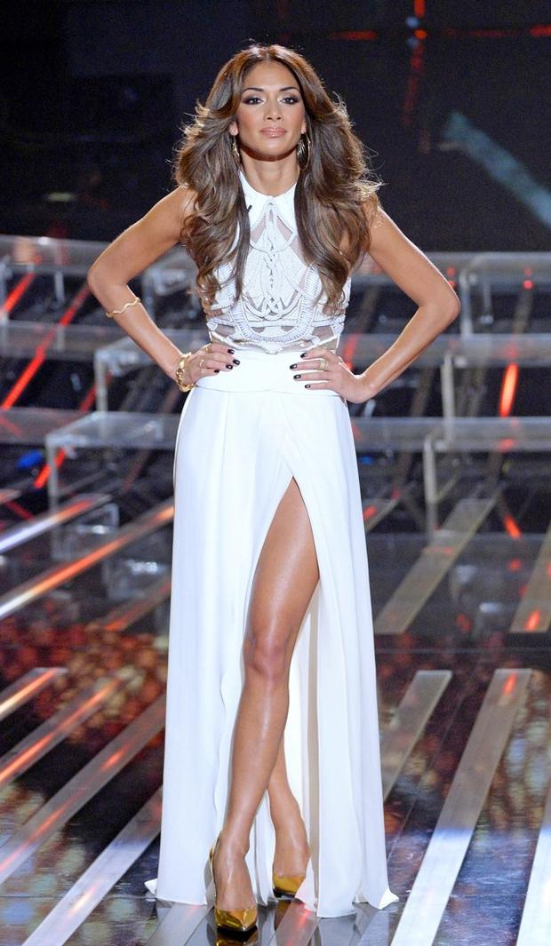 Nicole Scherzinger at The X Factor Results Show 2013