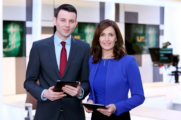Ireland Live's Chris Donoghue and Alison Comyn