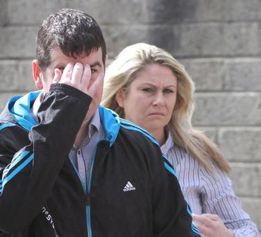 Patrick and Shirley McDonagh who's son was traically killed at their home near Letterkenny. (NewspixIrl)