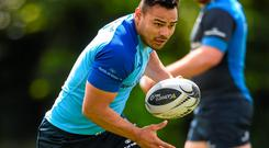 Leinster's Ben Te'o during squad training