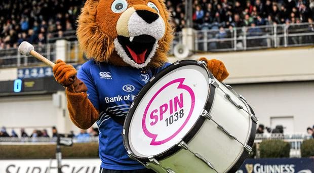 Leinster mascot Leo The Lion