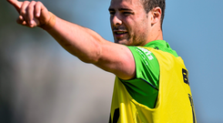 Robbie Henshaw was among seven Irish-based players to be named in this season's Pro12 Dream Team