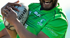Rodney Ah You is one of the players in contention for the Connacht Rugby April Player of the Month