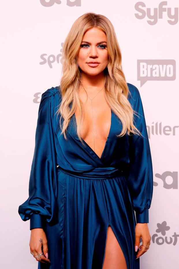 Khloe Kardashian attends the 2015 NBCUniversal Cable Entertainment Upfront at The Jacob K. Javits Convention Center