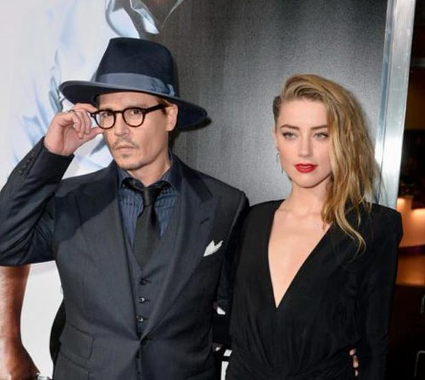 Johny Depp and Amber Heard