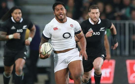 Manu Tuilagi will miss World Cup after assaulting police officer Photo: GETTY