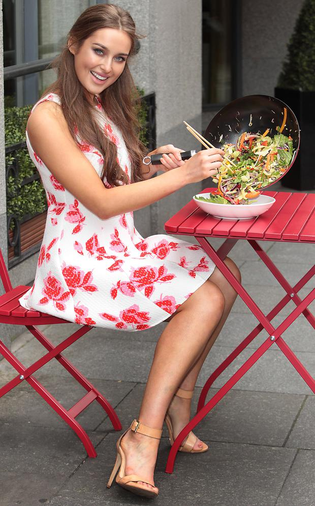 Roz Purcell launches Florettes new Ready to Wok stir fry range