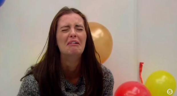 Jade Martin Lynch can't cope with balloons