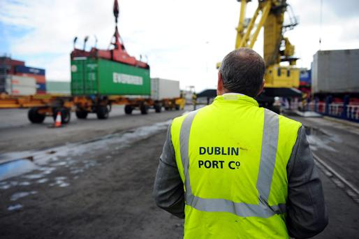Irish exports are continuing to grow strongly
