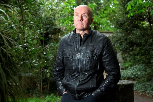 Author, author: Irvine Welsh lived in Rathmines for a number of years and is happy to be paying a visit back to Dublin. Photo: Tony Gavin