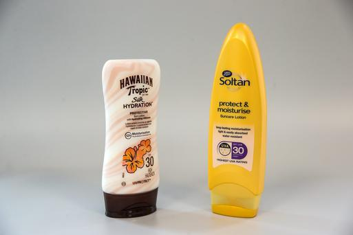 Boots Soltan Protect & Moisturise Lotion SPF30 (200ml) and Hawaiian Tropic Silk Hydration Lotion SPF30 (180ml) only delivered two-thirds of the claimed protection against UVB radiation