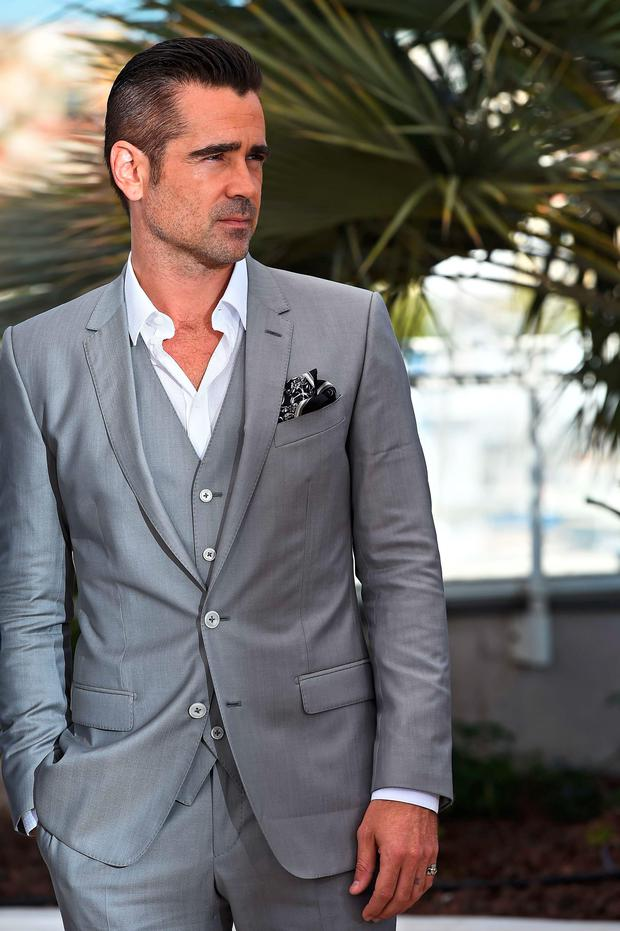 Irish actor Colin Farrell promotes his new film, 'The Lobster'