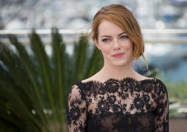 Actress Emma Stone, who stars in 'The Irrational Man'