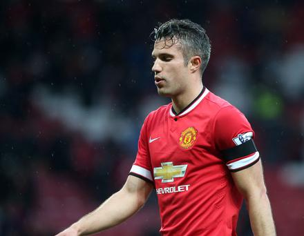 From the moment Ferguson retired less than a month after that Arsenal game, Van Persie has developed into an enigma who cannot even convince an apparent kindred spirit in Louis van Gaal of his worth to United (Getty Images)