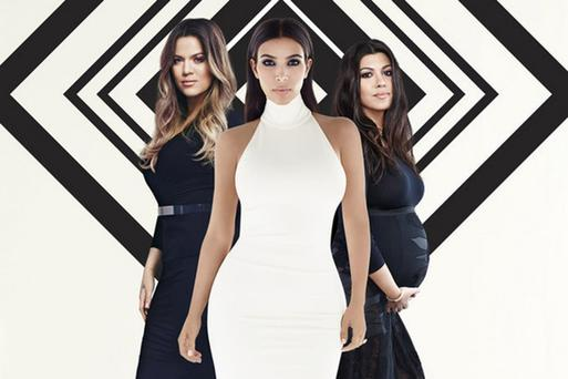 Khloe, Kim and Kourtney Kardashian. Picture: E!