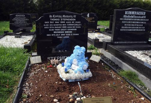 The grave of Brendan (3)