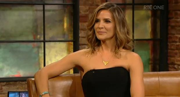 Amanda Byram on The Late Late Show/RTE One