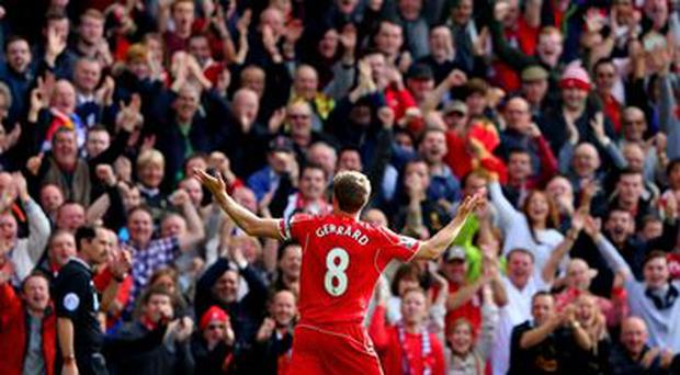 'Steven Gerrard isn't just another player to have donned the red jersey – more than any other he's epitomised the values and character of Liverpool Football Club' read a statement on the Liverpool website today