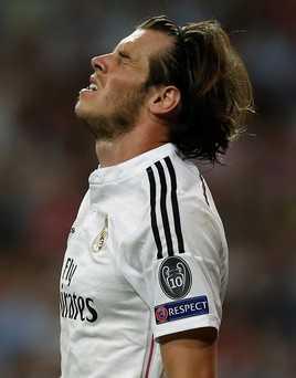 Gareth Bale has had to contend with jeers and booing from Real Madrid supporters