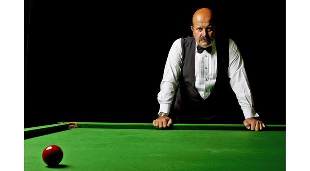 Snooker commentator Willie Thorne