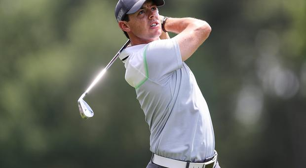 On Saturday, Rory McIlroy reached that elusive level of consciousness that athletes call 'the zone', a place in which vision and physicality merge to make the difficult seem ordinary, the emotions settle into detached calmness, and the performance just flows (Jim Dedmon-USA TODAY Sports)