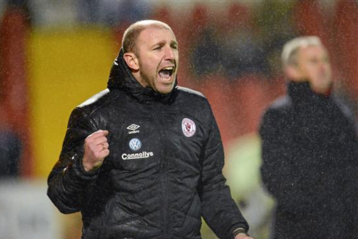 Owen Heary has praised his man of steel for helping Sligo Rovers finally claim their first home league win of the season on Saturday