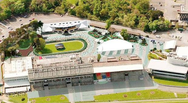 Leopardstown racecourse as it will look after the revamp